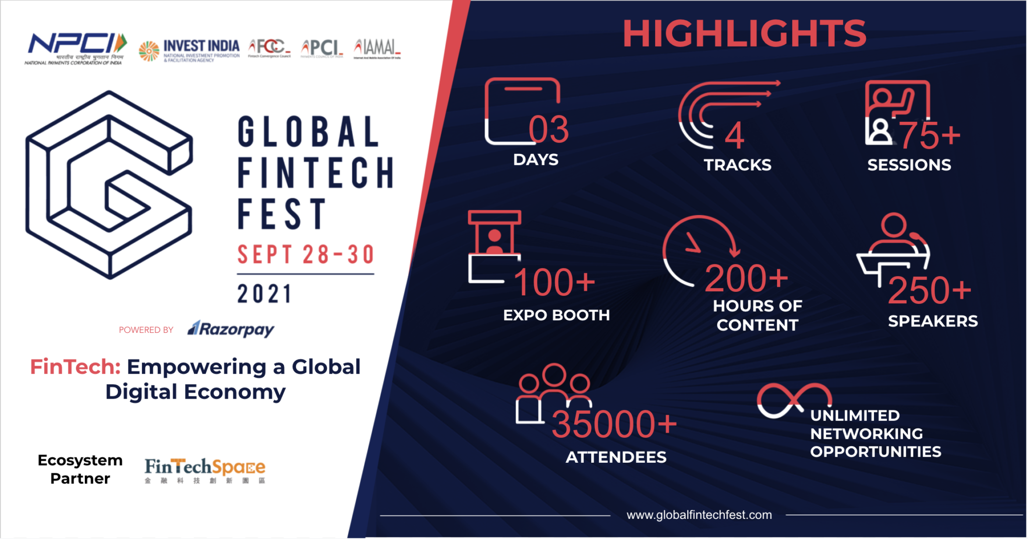 免費線上參與印度全球金融科技節(Gloabl Fintech Fest)! – 金融科技創新園區| FinTechSpace